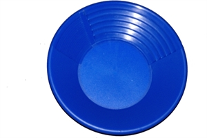 """Picture of 14 """" Keene Blue Gold Pan (350mm)"""